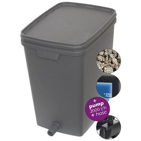 Filtro Per Laghetti 35 L Con Pompa 2000 L 146039