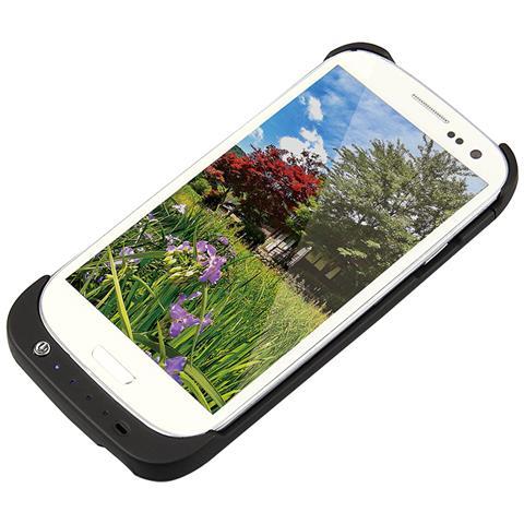 LOGILINK Cover Con Batteria Incorporata Per Samsung S3 Colore Nero
