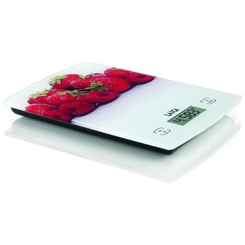 Bilancia Elettronica da Cucina Frutti Rossi Portata 5 kg