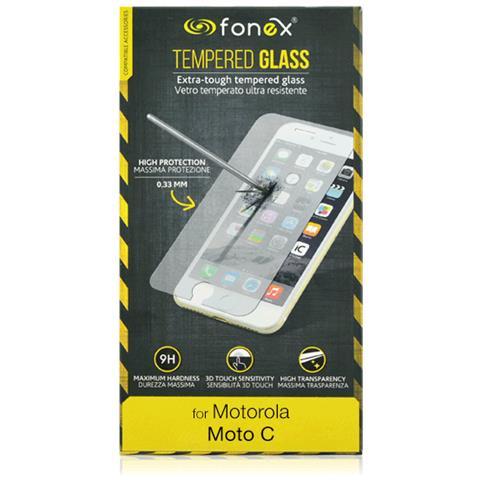 FONEX Screen Glass Tempered Per Motorola Moto C (1pz)