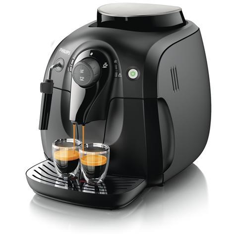 Macchina da Caffè Espresso Automatica Serie 2000 Serbatoio 1 L Potenza 1400 Watt Colore Nero