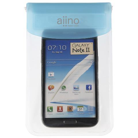 AIINO Custodia Sea Waterproof e Universale per smartphone - Blue