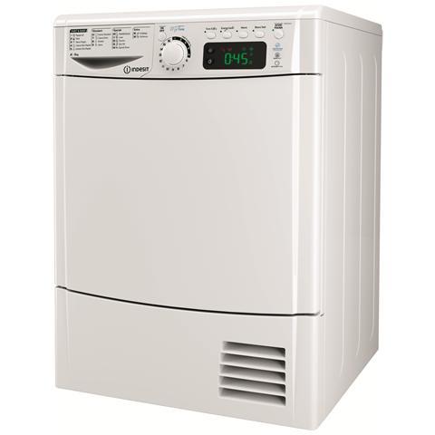 INDESIT Asciugatrice EDPE G45 A1 ECO (IT), 8 Kg Classe A+ a Condensazione con Pompa di Calore