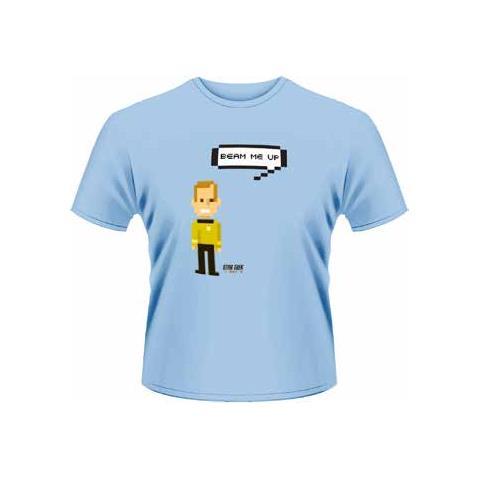 PLASTIC HEAD Star Trek - Kirk Talking Trexel (T-Shirt Unisex Tg. S)