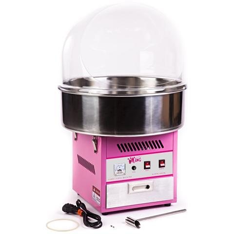 Macchina Per Zucchero Filato - 52 Cm - Con Cupola