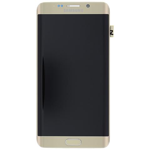 Image of Display Lcd Touch Screen Originale Samsung Galaxy S6 Edge Plus Sm-g928f Gold Oro