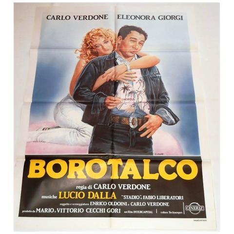 Vendilosubito Manifesto Del Film Borotalco Carlo Verdone Eleonora Giorgi 1982