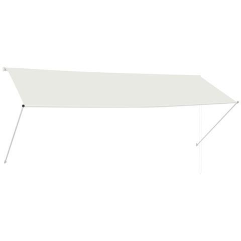 Tenda Da Sole Retrattile 350x150 Cm Crema
