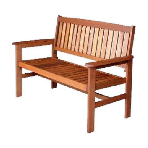 HOMEGARDEN Panca in legno da giardino 121x63x89 cm