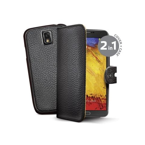 CELLY bk pu wallet case galaxy note 3