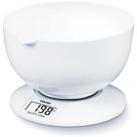 KS 32 Bilancia da Cucina Portata 5 kg Colore Bianco