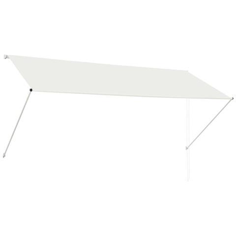 Tenda Da Sole Retrattile 300x150 Cm Crema