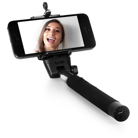 FRESH N REBEL Selfie Stick-Asta per Selfie 5SS100BL Wireless Bluetooth
