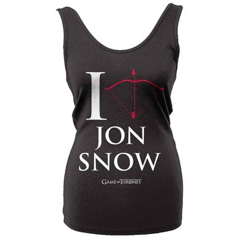 PHM Game Of Thrones - I Love Jon Snow (Canotta Donna Tg. S)
