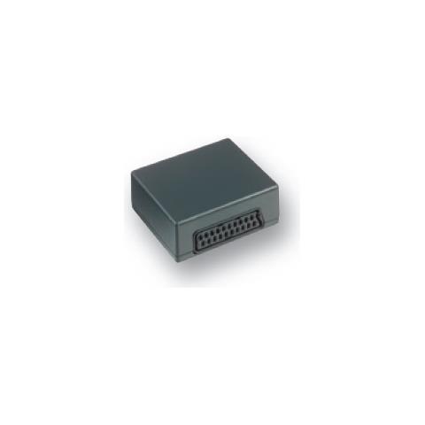 BELKIN SCART gender changer SCART-M / SCART-F Nero cavo di interfaccia e adattatore