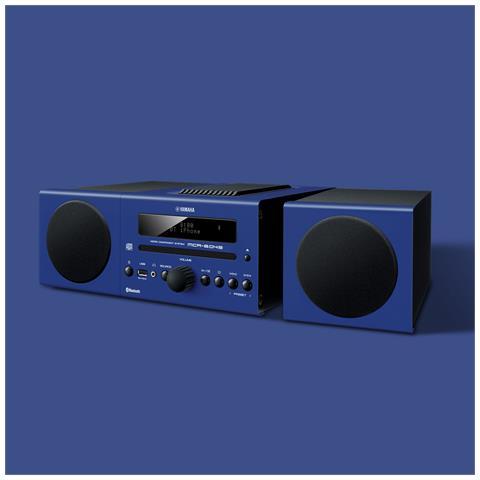 YAMAHA MCR-B043, Micro set, 50 - 20000 Hz, Blu, 3,5 mm, CD-RW, CD, CD-R, WMA, MP3