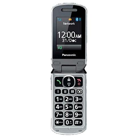 PANASONIC KX-TU349 Champagne Display +Slot MicroSD Bluetooth Radio FM Fotocamera 2Mpx con Tasti Grandi + SOS