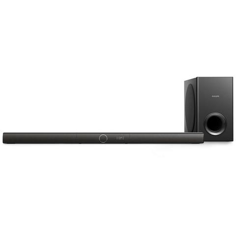 PHILIPS Soundbar HTL3160B / 12 Dolby Digital 200Watt Bluetooth / USB / AUX Subwoofer wireless 3.1