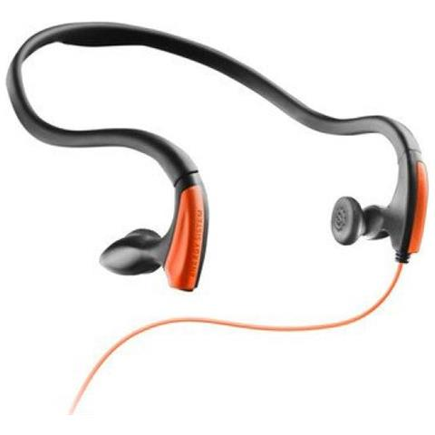 "ENERGY SISTEM Energy Earphones Running One Neon Orange, Intraurale, Passanuca, 3.5 mm (1/8"") , Nero, Arancione, 20 - 20000 Hz, Cablato"