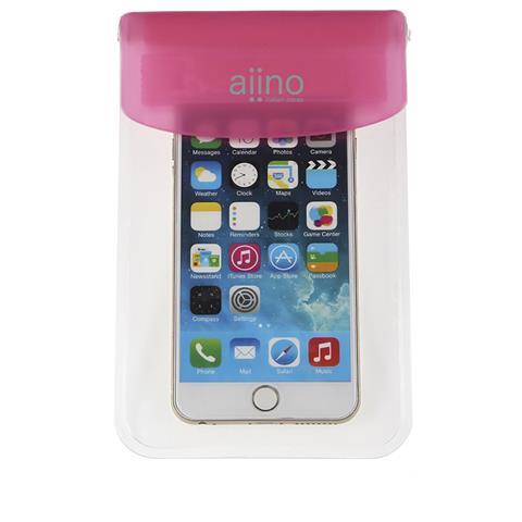AIINO Custodia Sea Waterproof e Universale per smartphone - Pink