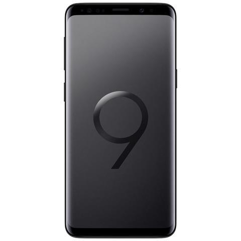 "SAMSUNG Galaxy S9 Nero 64 GB 4G Dual Sim Impermeabile Display 5.8"" Quad HD Slot MicroSD Fotocamera 12Mpx Italia"