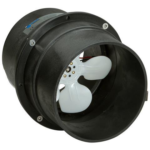 Elettroventilatore Portata 750 Mc / ora Elettroventilatore 24v. ass. 2,5 Amp.