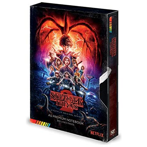 PYRAMID INTERNATIONAL Taccuino A5 Premium - Stranger Things (s2 Vhs)