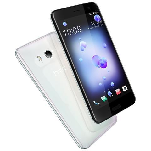 "HTC U11 Bianco 64 GB 4G / LTE Dual Sim Display 5.5"" Quad HD Slot Micro SD Fotocamera 12 Mpx Android Europa"