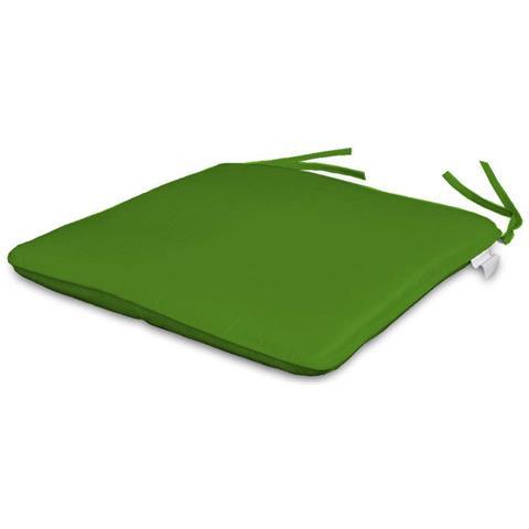Set Di 2 Coprisedia 35 X 35cm Colore Verde Anice
