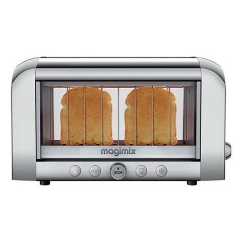 Tostapane le toaster vision cromo / satinato senza pinze