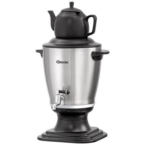 191004 Bollitore Samovar in acciaio Inox per la preparazione del tè 3,2 litri