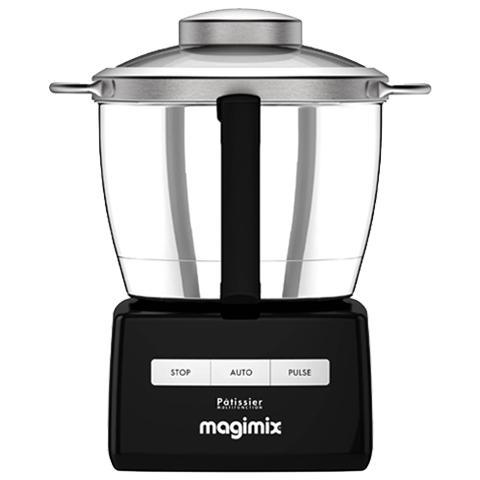 Robot da Cucina Pâtissier Multifunzione 6200 XL Capacità 4,9 L Potenza 1500 W Colore Nero