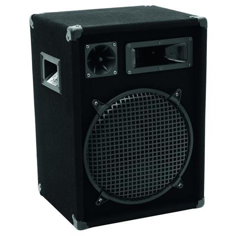 OMNITRONIC Altoparlante Stereo Singolo da Pavimento DX-1222 Nera 11037071-EU