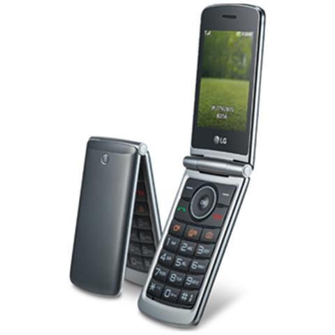 "LG G351 Titanio Display 3"" +Slot MicroSD Bt Fotocamera 1.3Mpx RadioFM - Italia"