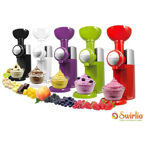 Gelatiera Yogurtiera Naturale Frutta Gelati Swirlo Senza Conservanti Mousse Colori Assortiti