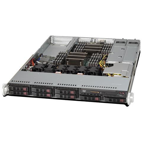 SuperServer 1027R-WRF, Intel C602, Socket R (LGA 2011) , Intel, 1U, Xeon, E5-2600