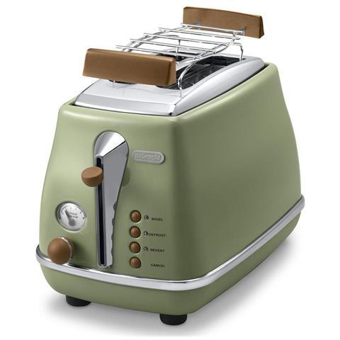 CTOV 2103. GR Icona Vintage Tostapane Potenza 900 Watt