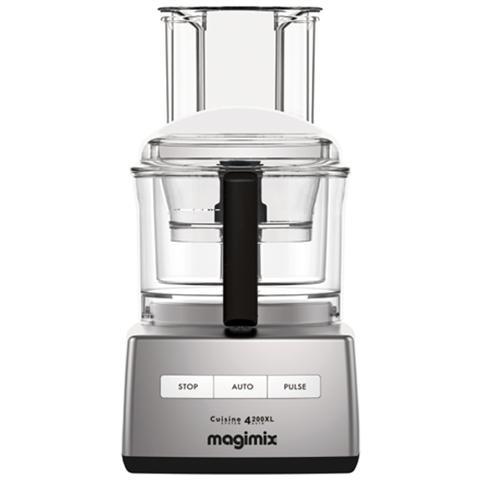 Robot da Cucina Cuisine Systeme 4200 XL Capacità 3 L Potenza 950 W Colore Cromato