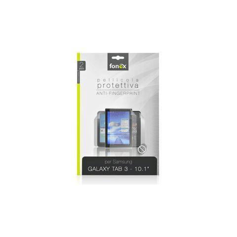 "FONEX Pellicola Protettiva Anti Impronta per Galaxy Tab 3 10.1"" (2Pz)"
