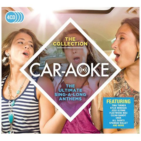 WARNER BROS Car-Aoke - The Collection (4 Cd)