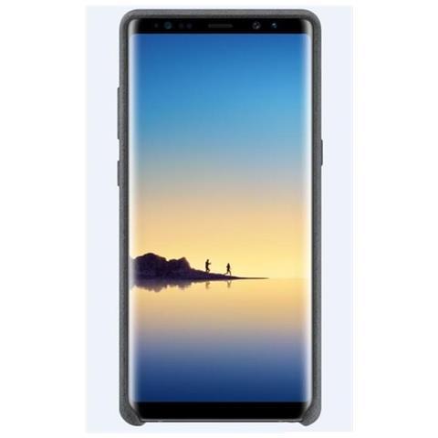 SAMSUNG Cover in Pelle per Galaxy Note 8 Colore Grigio Scuro