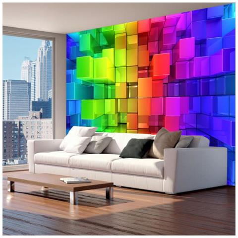 Image of Fotomurale Colour Jigsaw