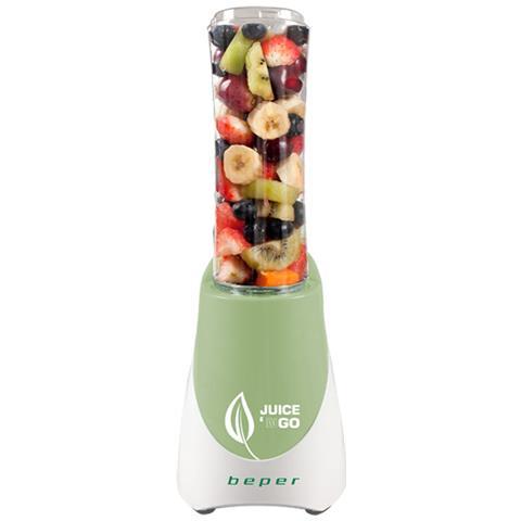 Frullatore Mixer Frullino Frullati 2 In 1 Juice Contenitore Bottiglia Portatile