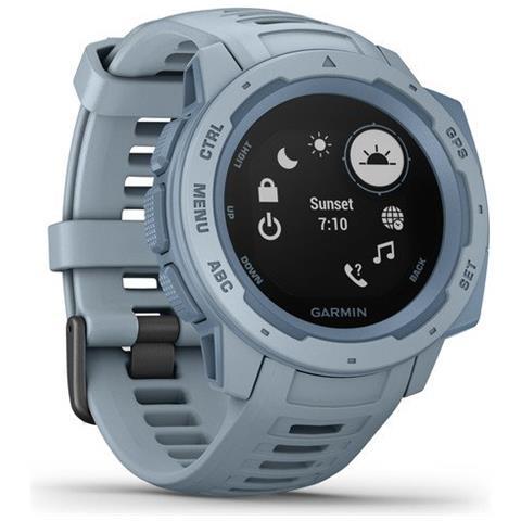 Smartwatch Instinct Impermeabile 10 ATM Bluetooth per Fitness con Contapassi e Cardiofrequ...
