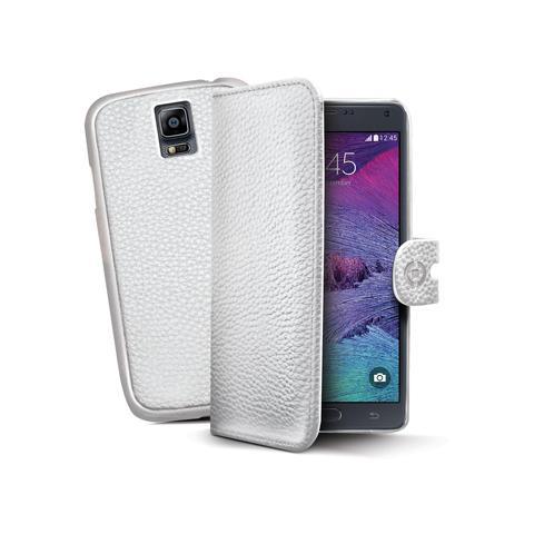 CELLY wh pu wallet case for galaxy note 4