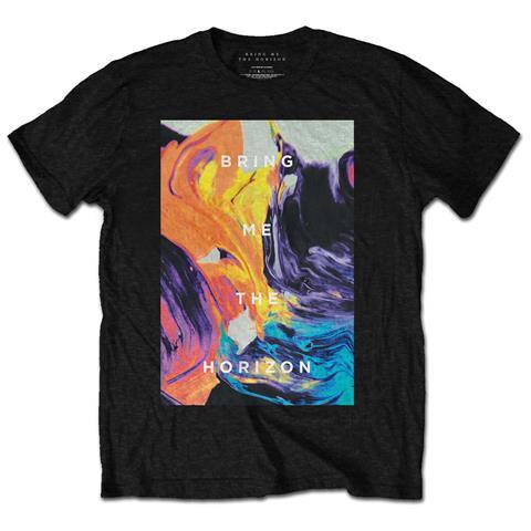 ROCK OFF Bring Me The Horizon - Painted (T-Shirt Unisex Tg. L)