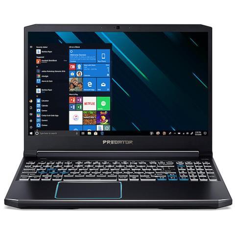 Image of Notebook Predator Helios 300 PH315-52-7045 Monitor 15,6'' Full HD Intel Core i7-9750H Ram 16 GB Hard Disk 1 TB SSD 256 GB Nvidia GeForce GTX 1660Ti 6 GB 1xUSB 3.1 3xUSB 3.0 Windows 10 Home