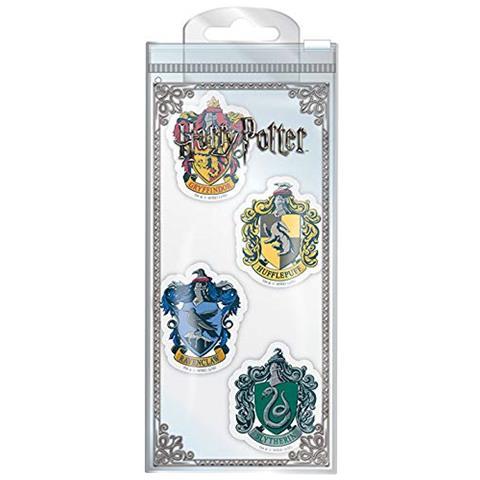 PYRAMID INTERNATIONAL Harry Potter Kit Di 4 Gomme, 9 X 3 X 21,5 Cm