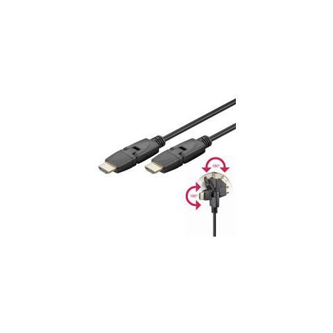 WENTRONIC MMK 628-500 G 5.0m (HDMI 1.3) 5m HDMI HDMI Nero cavo HDMI