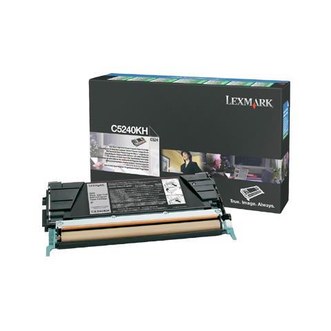 Image of 00C5240KH Toner Originale Nero per Lexmark C534dn / C534dtn Capacit